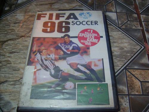 cartucho mega drive fifa soccer 96