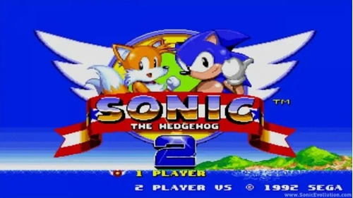 cartucho mega drive sonic the hedgehog 2