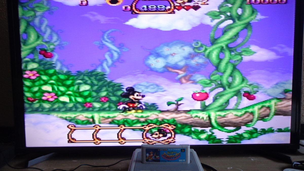 Cartucho Mickey Magical Quest 1 Original- Super Famicom