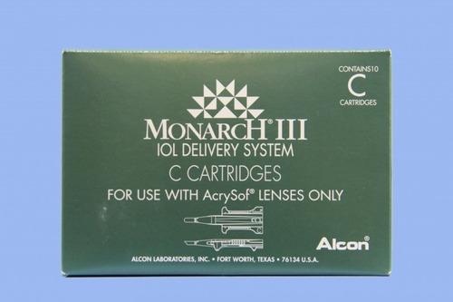 cartucho, monarca iii c para lente intraocular