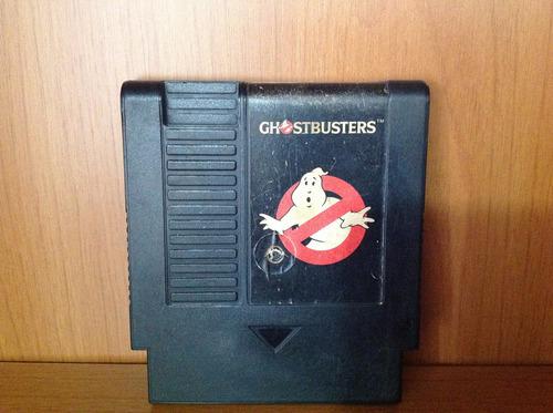 cartucho nintendo - ghostbusters