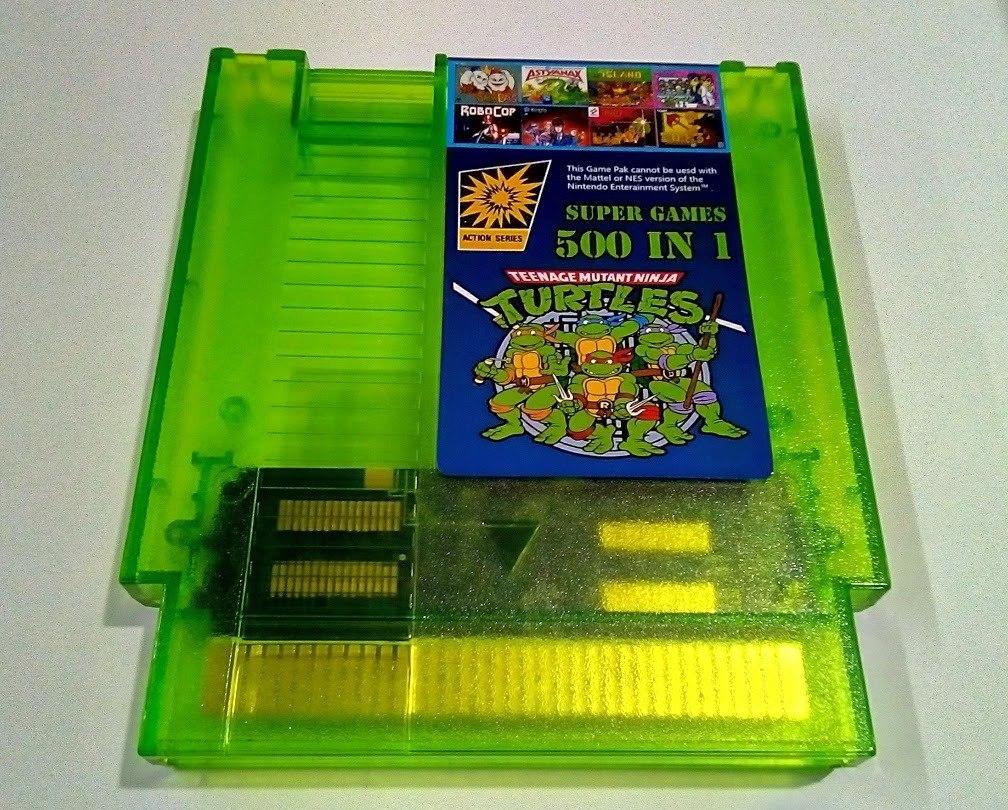 Cartucho Nintendo Nes 500 En 1 Nuevo Los Mejores Juegos 2 500 00