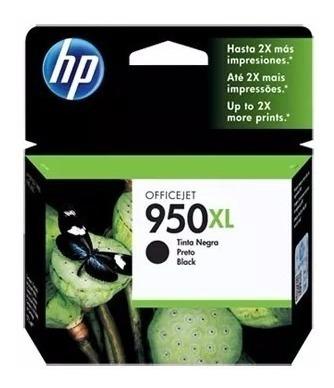 cartucho original de tinta hp 950xl-negro para 8610, 8620