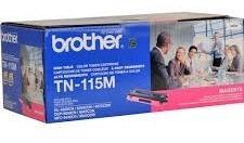 cartucho original de toner brother tn115m magenta