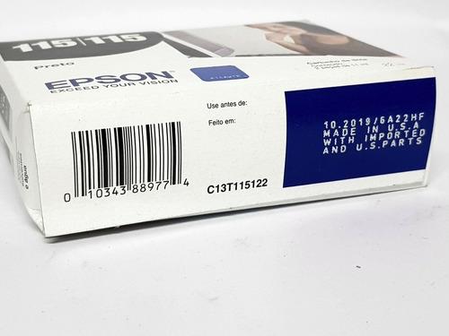 cartucho original epson 115 (duplo black)
