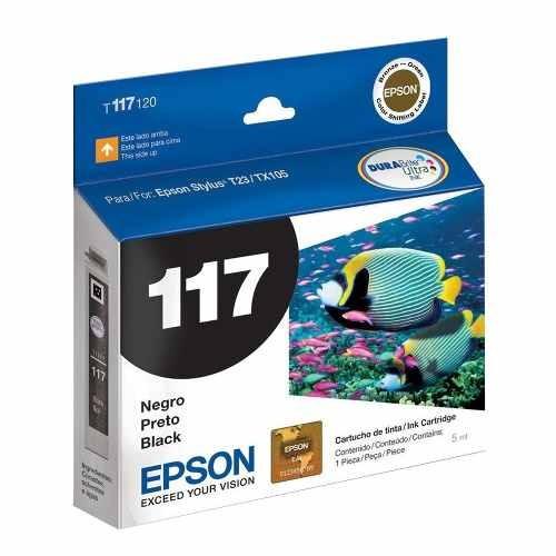 cartucho original epson negro 117 t117 t117120- mejor precio