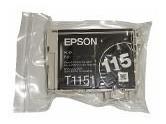cartucho original epson t115 preto - lacrado - cheio-unidade