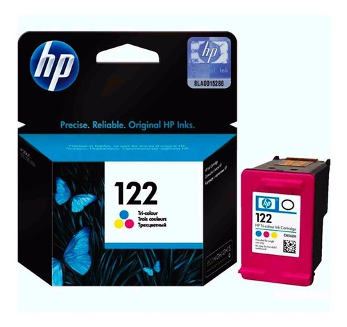 cartucho original tinta hp 122 tricolor 1050 1055 2050 3000