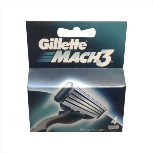 cartucho p/afeitadora gillette mach3-21887 tienda física maf