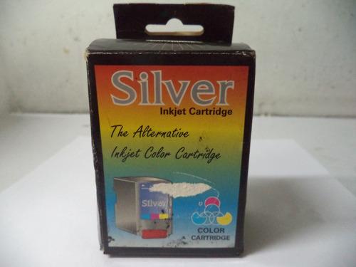 cartucho para impresora silver canon bjc-4000 series