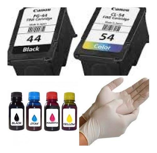 cartucho pg 44xl+ cl 54 com mais tinta + kit recarga e481