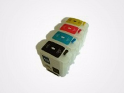 cartucho recargable hp 10 p/ color inkjet 1700 1700d 1700ps