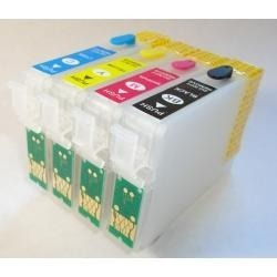 cartucho recarregável para epson t25 + tinta