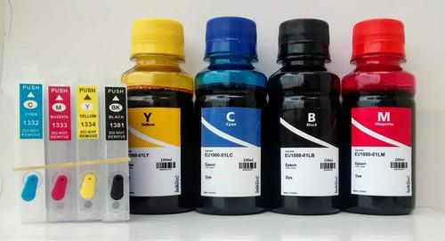 cartucho recarregável  tx235w tx320f tx430w + 400ml de tinta