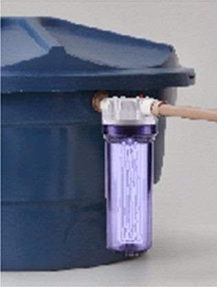 cartucho refil para filtro de caixa d' água fortlev