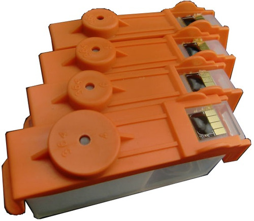 cartucho rellenable recargable hp 670 con chip reseteable