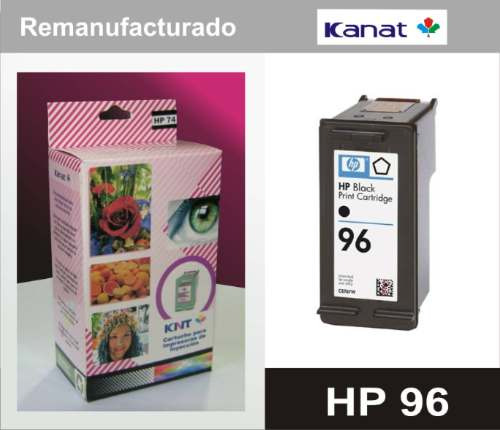 ¡cartucho remanufacturado hp 96!
