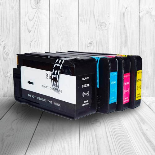 cartucho scp 950 951 alternativo para 8610 color o negro