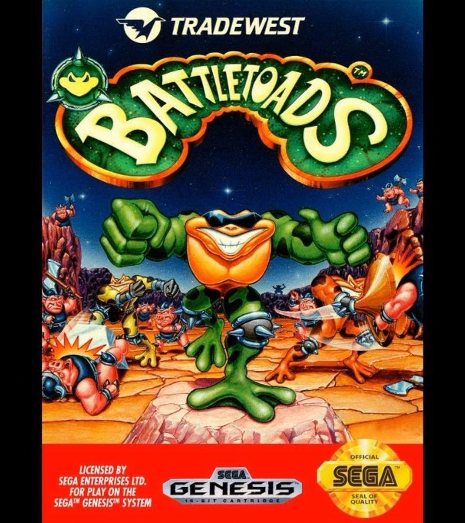 Cartucho Sega 7 Juegos Battletoads Golden Axe Alien 3 Y 160