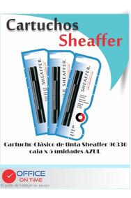 2 lotes de 1 unidad Sheaffer Classic Repuesto para pluma estilogr/áfica color azul