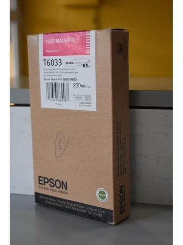 cartucho tinta epson t6033
