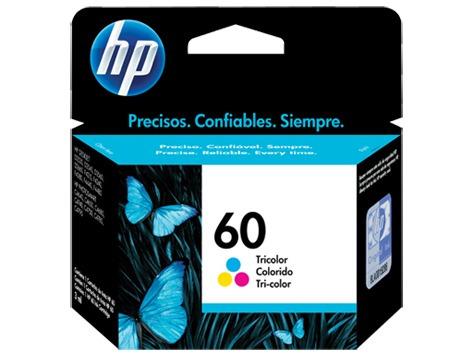 cartucho tinta hp 60 cc643wl tricolor color tienda oficial