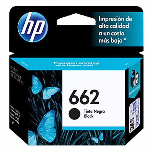 cartucho tinta hp 662 cz103al negro black tienda oficial hp