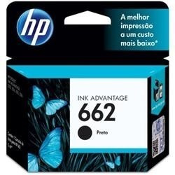 cartucho tinta hp 662 negro - original para 2515 3515