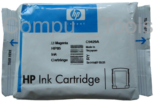 cartucho tinta hp 85 c9429a magenta claro 69ml empaque