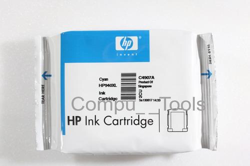 cartucho tinta hp 940xl c4907al cian / cyan 20.5ml empaque