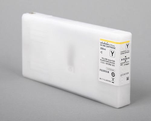cartucho tinta vividia para fuji frontier dx-100 amarillo