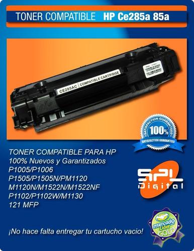 cartucho toner  hp 1102w p1102 85a hp85 ce285