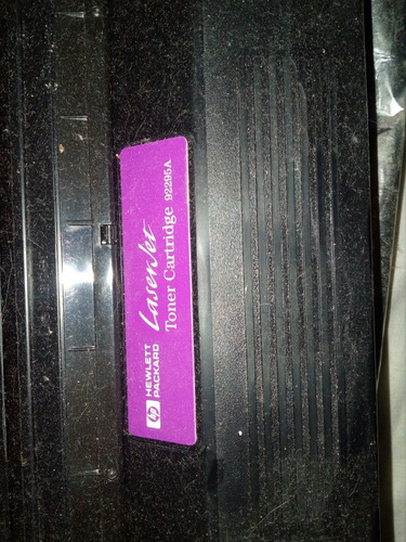 cartucho toner hp 95a sin caja original nuevo no esta usado