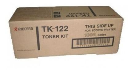 cartucho tóner kyocera modelo tk-122 para fs 1030d original