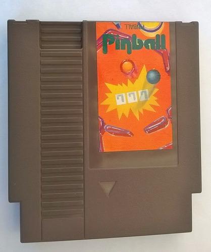 cartucho video game nintendo nes pinball