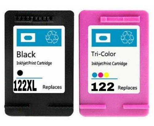 cartuchos 122xl preto + color