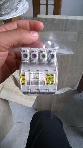 cartuchos 4 en 1 impresora epson tx130 (133)