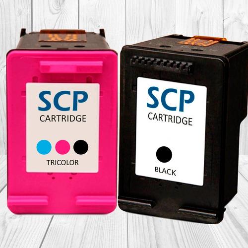 cartuchos alternativo scp 21 negro d1330- d1360- d2320-