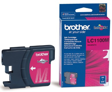 cartuchos brother magenta original lc1100m