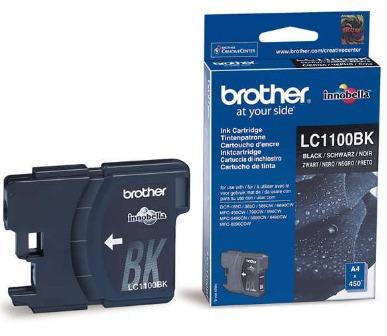 cartuchos brother negro original lc1100bk