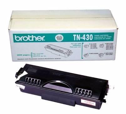 cartuchos brother tn-430 lote 3 pzs