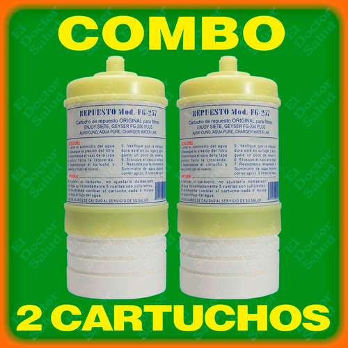 cartuchos carbón estándar # 7- en filtros agua- planta ozono