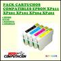 Pack 4 Cartuchos Epson Xp211 Xp201 Xp101 Compatibles Oferta