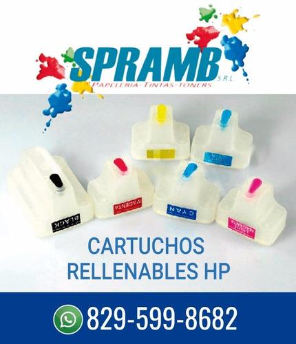 cartuchos compatibles hp 02,88, 364,363,178,920 ,940 rellena