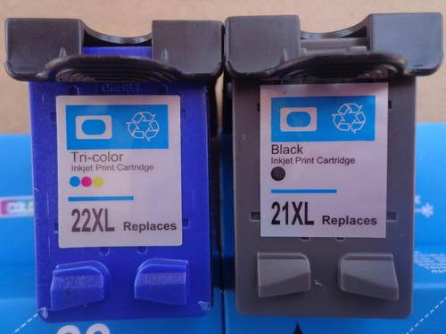 cartuchos compatibles para hewlett packard 22 xl