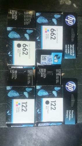 cartuchos de impresora 100% 21 22'74'75'122'60`662 92 93
