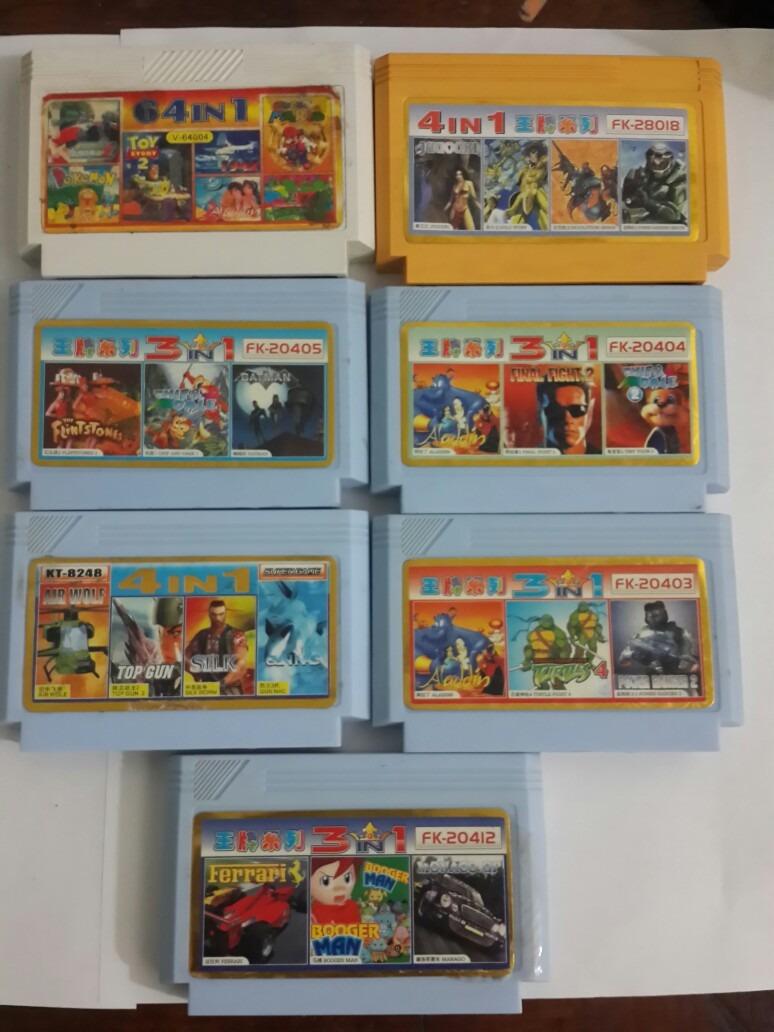 Cartuchos De Juegos Para Family Game X 1u 119 99 En Mercado Libre