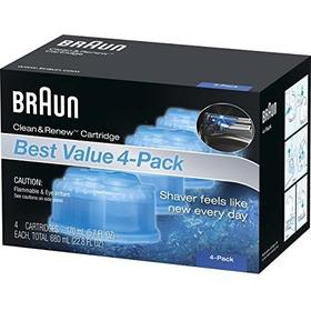 Cartuchos De Recarga Ccr Braun Clean Renew  4 Count
