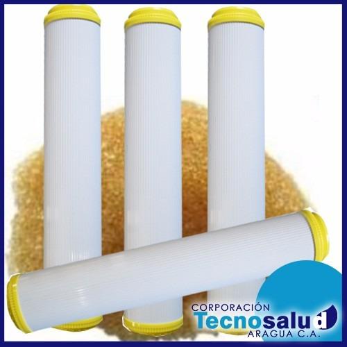 cartuchos de resina cationica de 10  y 20  estandar