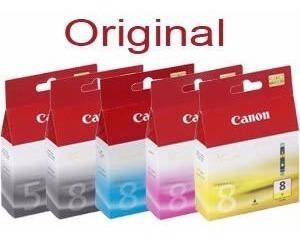 cartuchos de tinta canon cli-8 originales